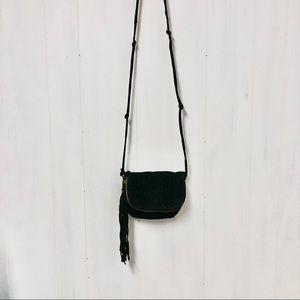 Forever 21 Black Leather Shoulder Bag